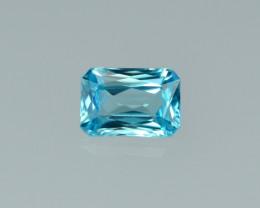 2.42 Cts Stunning Lustrous Cambodian Blue Zircon