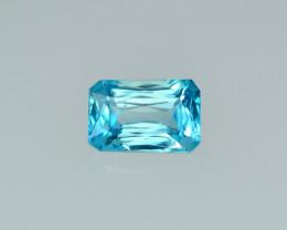 2.51 Cts Stunning Lustrous Cambodian Blue Zircon