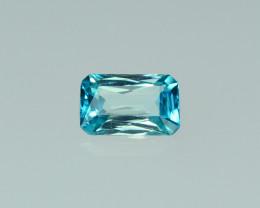 2.75 Cts Dazzling Lustrous Cambodian Blue Zircon