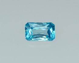 3.29 Cts Dazzling Lustrous Cambodian Blue Zircon