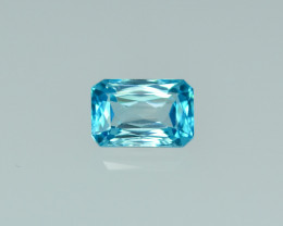 3.33 Cts Stunning Lustrous Cambodian Blue Zircon