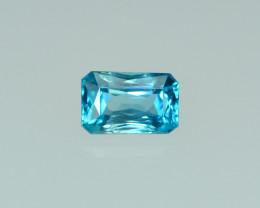 3.37 Cts DazzlingLustrous Cambodian Blue Zircon
