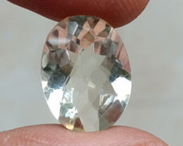 GREEN AMETHYST CHECKERED CUT Natural Gemstone VA6470