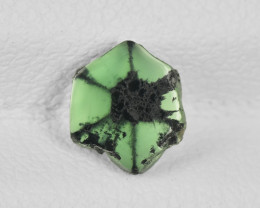 Trapiche Emerald, 0.68ct - Mined in Colombia | Certified by IGI