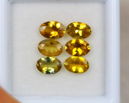 3.19ct Yellow Tanzanite Oval Cut Lot D49