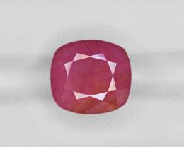 Ruby, 12.49ct - Mined in Guinea   Certified by IGI