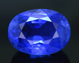 GRS Cert Burma Unheat Sapphire 6.86 ct  AAA Grade Amazing Color Rare