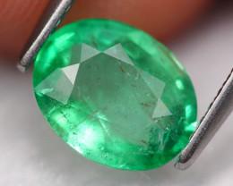 1.58Ct Colombian Emerald Natural Muzo Neon Green Emerald A0705