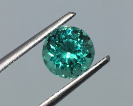1.43 Carat VS Apatite Neon Paraiba Color Custom Cut and Polish Quality !
