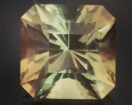 Designer Cut Dichroic 1.74ct Orange-Green Sunstone - Oregon US, H611