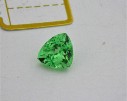 Tsavorite Garnet Gemstone at 3.97carats
