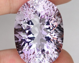 23.60 Cts AMAZING RARE ROSE AMETHYST LOOSE GEMSTONE