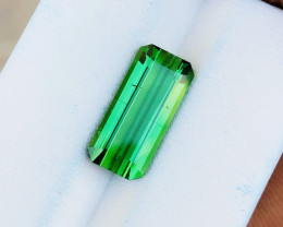 4.50 Ct Natural Greenish Transparent Tourmaline Ring Size Gemstone