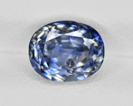 Blue Sapphire, 2.76ct - Mined in Kashmir | Certified by GIA & IGI