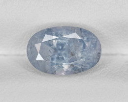 Blue Sapphire, 2.39ct - Mined in Kashmir | Certified by GIA & IGI