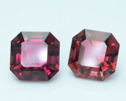 AAA Grade 6.31 ct Amazing Color Tourmaline Pair