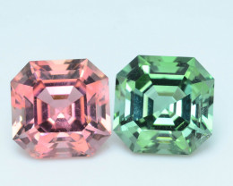 AAA Grade 9.01 ct Amazing Color Tourmaline Pair
