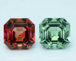 AAA Grade 8.50 ct Amazing Color Tourmaline Pair