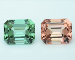 AAA Grade 8.39  ct Amazing Color Tourmaline Pair~Afghanistan