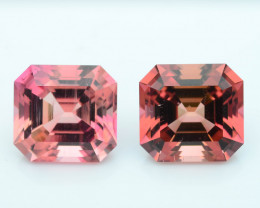 AAA Grade 11.68 ct Amazing Color Tourmaline Pair~Afghanistan