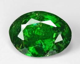 1.12 Ct Tsavorite Garnet Sparkling Luster Gemstone TS 19