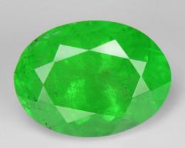 1.33 Ct Tsavorite Garnet Sparkling Luster Gemstone TS 25