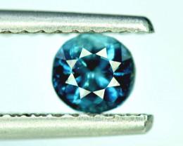 0.70 Carats Natural Blue Green Color Tourmaline Gemstone