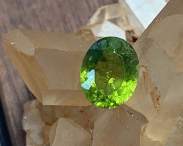⭐3.61ct Bright Green Peridot Gem - No reserve
