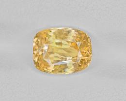 Yellow Sapphire, 3.26ct - Mined in Sri Lanka | Certified by IGI