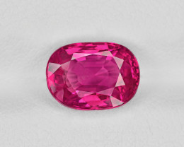 Ruby, 3.46ct - Mined in Burma | Certified by GII