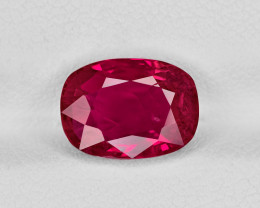 Ruby, 3.48ct - Mined in Burma | Certified by GII