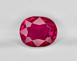 Ruby, 3.56ct - Mined in Burma | Certified by GII