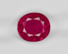 Ruby, 3.76ct - Mined in Burma | Certified by GII