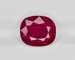 Ruby, 4.38ct - Mined in Burma | Certified by GRS