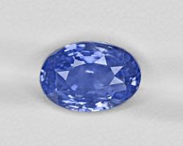 Blue Sapphire, 5.03ct - Mined in Sri Lanka | Certified by GRS