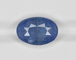 Blue Sapphire, 7.99ct - Mined in Sri Lanka | Certified by GRS