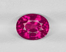 Ruby, 1.57ct - Mined in Sri Lanka | Certified by GRS
