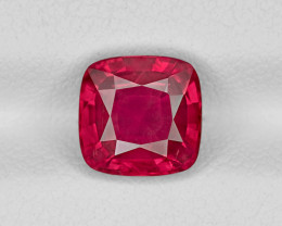 Ruby, 2.61ct - Mined in Tanzania | Certified by GRS