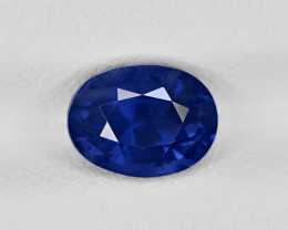 Blue Sapphire, 2.42ct - Mined in Sri Lanka | Certified by GRS