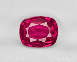 Ruby, 3.00ct - Mined in Burma | Certified by GRS