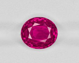 Ruby, 5.35ct - Mined in Burma | Certified by GRS