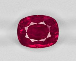 Ruby, 6.55ct - Mined in Burma | Certified by SSEF
