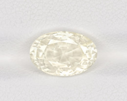 Colorless Sapphire, 3.41ct - Mined in Sri Lanka | Certified by GIA