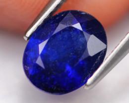 Blue Sapphire 2.79Ct Ceylon Navy Blue Sapphire A1209