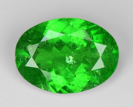 0.82 Ct Tsavorite Garnet Sparkling Luster Gemstone TS 39