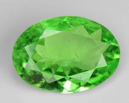 0.58 Ct Tsavorite Garnet Sparkling Luster Gemstone TS 43