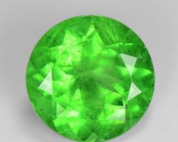 0.84 Ct Tsavorite Garnet Sparkling Luster Gemstone TS 51