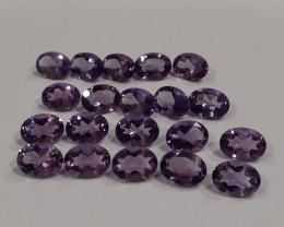 21.5 ct VVS Amethyst Natural gemstone brilliant cut #G0024b