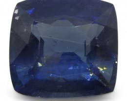 1.98 ct Blue Sapphire Cushion IGI Certified Ethiopian