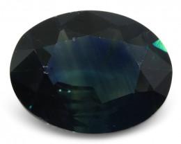 3.53 ct Blue Sapphire Oval IGI Certified Ethiopian